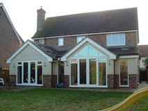 Revo designed extension
